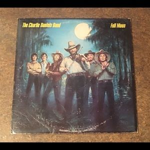 The Charlie Daniels Band Full Moon Vinyl LP Album